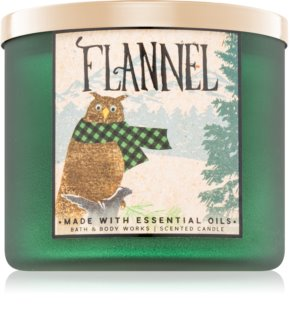 Bath & Body Works Flannel doftljus II.
