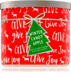 Bath & Body Works Winter Candy Apple vela perfumada II.