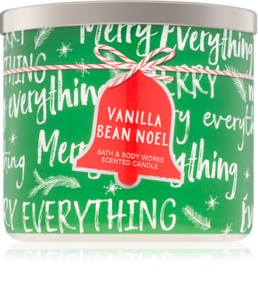 Bath & Body Works Vanilla Bean Noel vela perfumada  I.