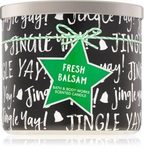 Bath & Body Works Fresh Balsam αρωματικό κερί IV.
