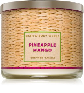 Bath & Body Works Pineapple Mango vela perfumada
