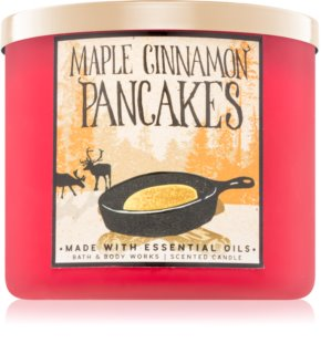 Bath & Body Works Maple Cinnamon Pancakes vonná svíčka