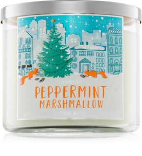 Bath & Body Works Peppermint Marshmallow vonná svíčka