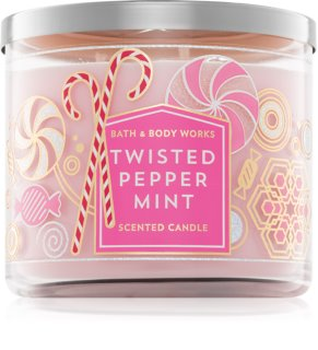 Bath & Body Works Twisted Peppermint candela profumata I