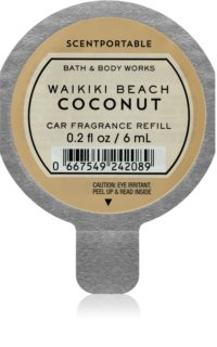 Bath & Body Works Waikiki Beach Coconut désodorisant voiture recharge