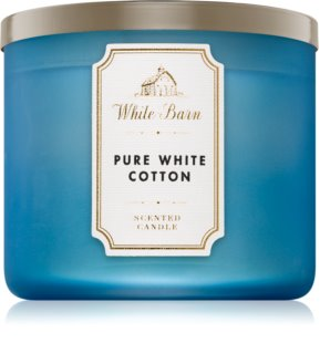 Bath & Body Works Pure White Cotton vela perfumada