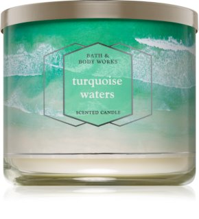 Bath & Body Works Turquoise Waters scented candle I.