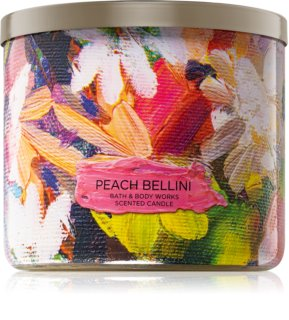 Bath & Body Works Peach Bellini scented candle I.