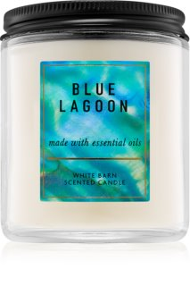 Bath & Body Works Blue Lagoon vela perfumada
