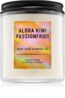 Bath & Body Works Aloha Kiwi Passionfruit duftkerze  mit ätherischen Öl