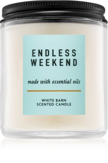 Bath & Body Works Endless Weekend vela perfumada  I.