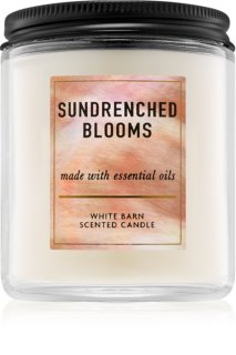 Bath & Body Works Sundrenched Blooms vela perfumada