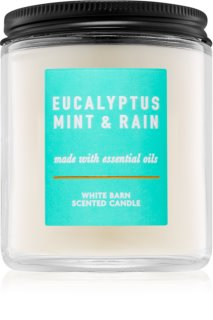 Bath & Body Works Eucalyptus Mint & Rain vela perfumada