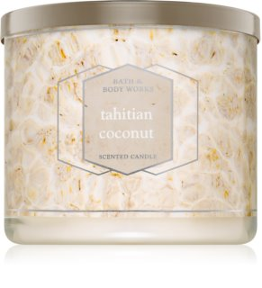 Bath & Body Works Tahitian Coconut candela profumata