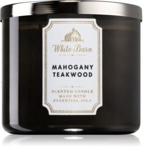 Bath & Body Works White Barn Mahogany Teakwood bougie parfumée