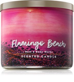 Bath & Body Works Flamingo Beach vela perfumada