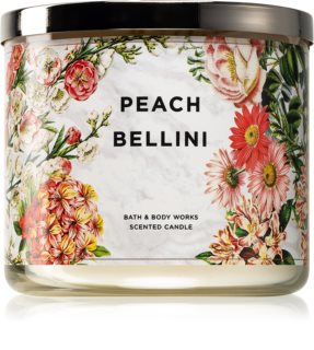 Bath & Body Works Peach Bellini vela perfumada II.