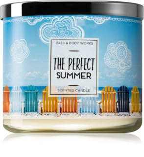 Bath & Body Works The Perfect Summer vela perfumada