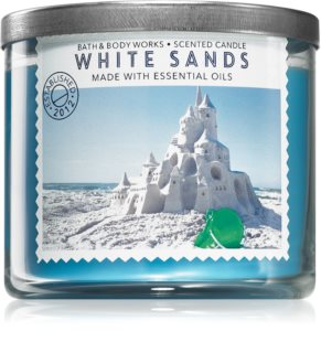 Bath & Body Works White Sands vela perfumada