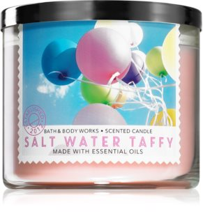 Bath & Body Works Salt Water Taffy vela perfumada