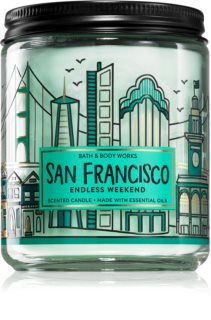 Bath & Body Works Endless Weekend vela perfumada III.