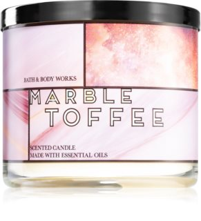 Bath & Body Works MarbleToffee vonná svíčka