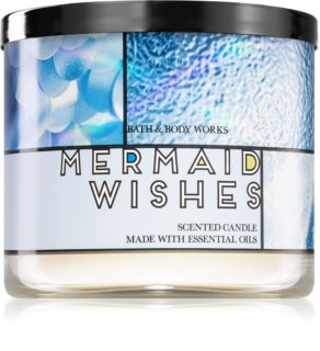 Bath & Body Works Mermaid Wishes scented candle