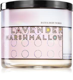 Bath & Body Works Lavender Marshmallow αρωματικό κερί