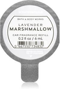 Bath & Body Works Lavender Marshmallow aроматизатор за автомобил резервен пълнител