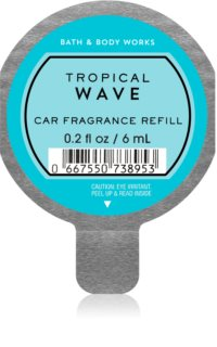 Bath & Body Works Tropical Wave auto luchtverfrisser  Vervangende Vulling