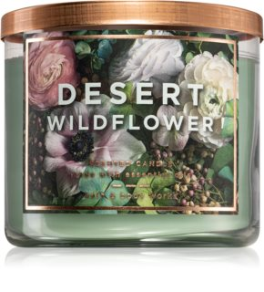 Bath & Body Works Desert Wildflower vela perfumada