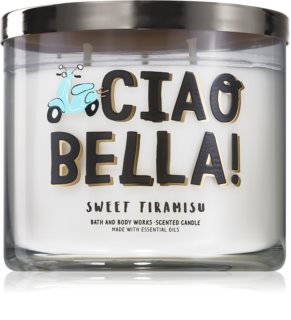 Bath & Body Works Sweet Tiramisu ароматна свещ