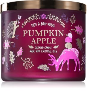 Bath & Body Works Pumpkin Apple scented candle