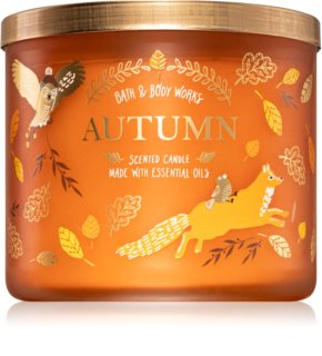 Bath & Body Works Autumn illatos gyertya
