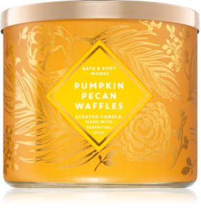 Bath & Body Works Pumpkin Pecan Waffles ароматна свещ  III.