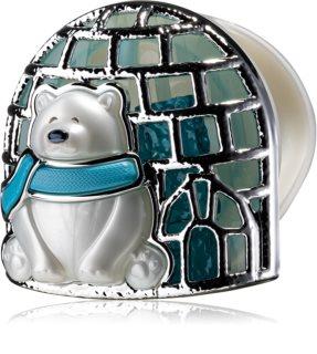 Bath & Body Works Polar Bear θήκη για το αρωματικό αυτοκινήτου κρεμαστό