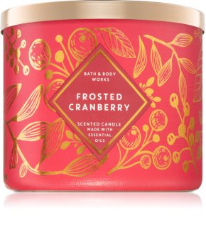 Bath & Body Works Frosted Cranberry vela perfumada  II.