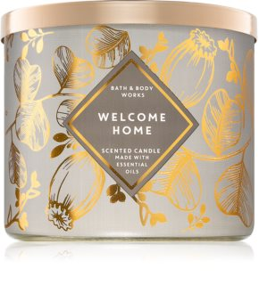 Bath & Body Works Welcome Home vela perfumada