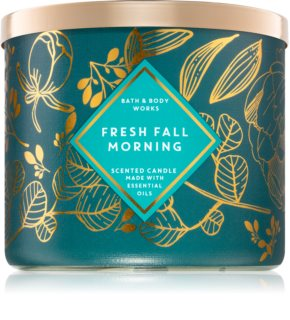 Bath & Body Works Fresh Fall Morning mirisna svijeća