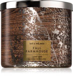 Bath & Body Works Fall Farmhouse bougie parfumée