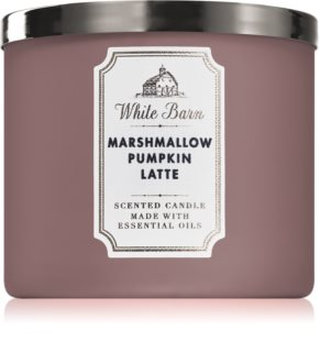 Bath & Body Works Marshmallow Pumpkin Latte vela perfumada