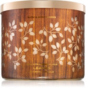 Bath & Body Works Leaves scented candle I.