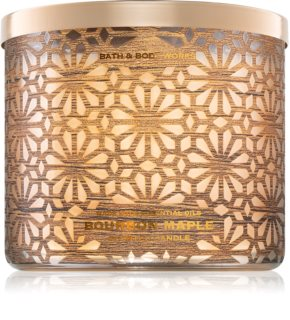 Bath & Body Works Bourbon Maple candela profumata II