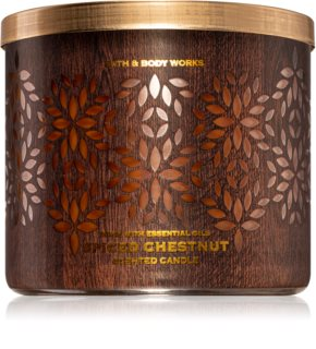 Bath & Body Works Spiced Chestnut scented candle