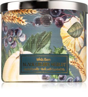 Bath & Body Works Black Cherry Merlot scented candle II.