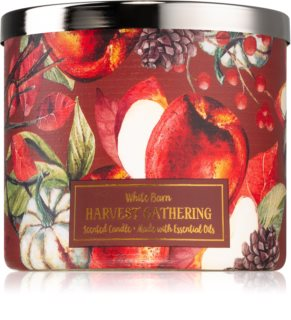 Bath & Body Works Harvest Gathering vela perfumada I.