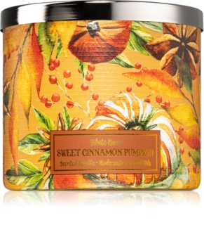 Bath & Body Works Sweet Cinnamon Pumpkin dišeča sveča