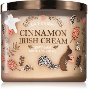 Bath & Body Works Cinnamon Irish Cream scented candle