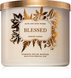Bath & Body Works Pumpkin Pecan Waffles vela perfumada  I. (Blessed) 411 g