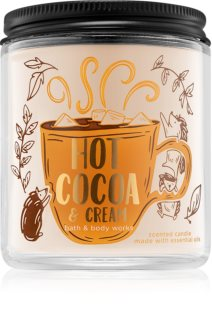 Bath & Body Works Hot Cocoa & Cream vela perfumada